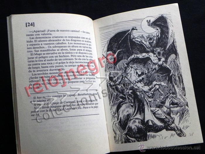 Libros de segunda mano: EL DESAFÍO DEL CABALLERO LOBO MAGOS Y GUERREROS TÚ ERES PROTA TIPO ELIGE PROPIA AVENTURA LIBRO JUEGO - Foto 3 - 41721441