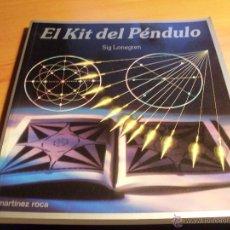 Livres d'occasion: EL KIT DEL PENDULO (SIG LONEGREN) (LBB1). Lote 41764303