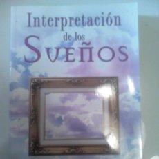 Livres d'occasion: INTERPRETACION DE LOS SUEÑOS. Lote 41852308