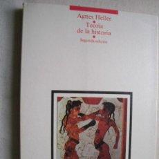 Libros de segunda mano: TEORÍA DE LA HISTORIA. HELLER, AGNES. 1985. Lote 41873823