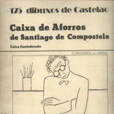 Libros de segunda mano: 175 DIBUXOS DE CASTELAO. Lote 42034769