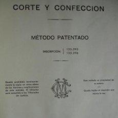 Libros de segunda mano: CORTE Y CONFECCION .M CARDOSO.SEVILLA.1956.75 PG FOLIO TOTALMENTE ILUSTRADO.SASTRERIA. Lote 42050487