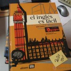 Libros de segunda mano: EL INGLES ES FACIL . GRADO ELEMENTALEDICIONES AFHA PORTES 8€6 €. Lote 42141337