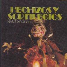 Libros de segunda mano: HECHIZOS Y SORTILEGIOS. Lote 42210330
