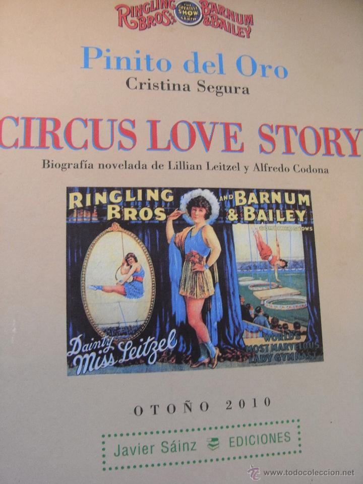 CIRCUS LOVE STORY - PINITO DEL ORO (Libros de Segunda Mano - Bellas artes, ocio y coleccionismo - Otros)