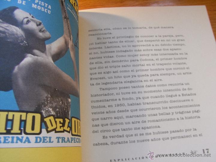 Libros de segunda mano: CIRCUS LOVE STORY - PINITO DEL ORO - Foto 7 - 42211512