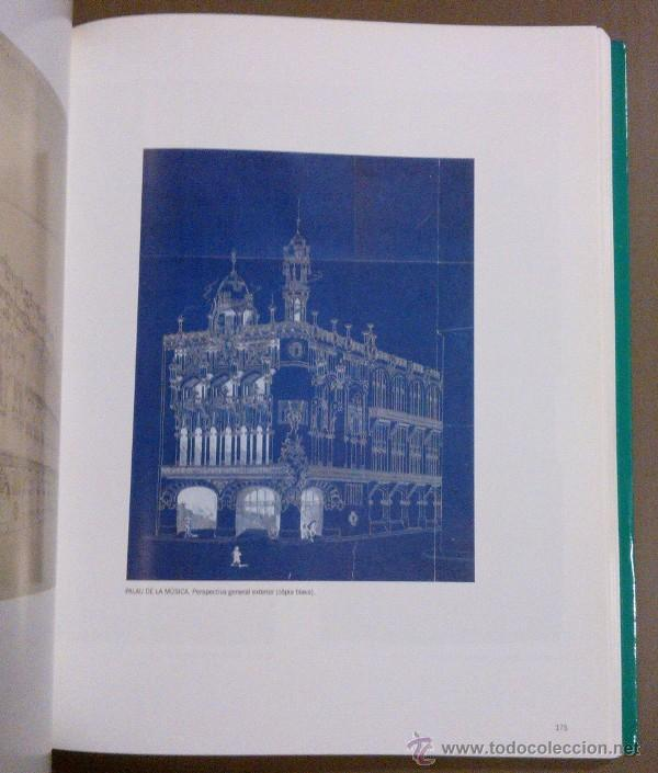 Libros de segunda mano: Lluís Domènech i Montaner i el director d'orquestra (Fund. Caixa Barcelona) 1989. Modernismo. Rareza - Foto 5 - 42212186