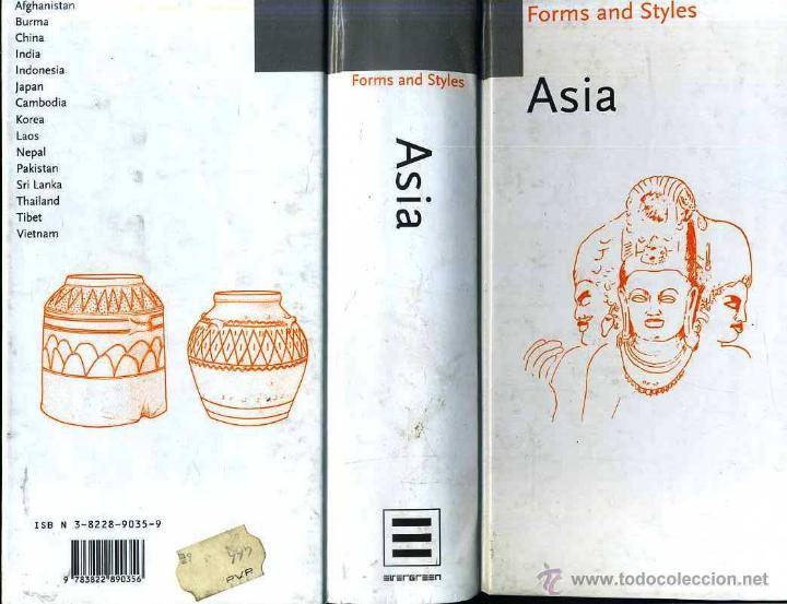 FORMS AND STYLES - ASIA (1978) (Libros de Segunda Mano - Bellas artes, ocio y coleccionismo - Otros)
