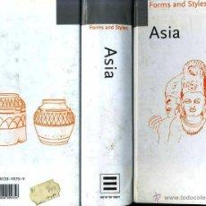 Libros de segunda mano: FORMS AND STYLES - ASIA (1978). Lote 42224938