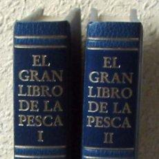 Libros de segunda mano: EL GRAN LIBRO DE LA PESCA - 2 TOMOS COMPLETO - PLAZA & JANES 1981 - VER ÍNDICE Y FOTOS. Lote 42261979