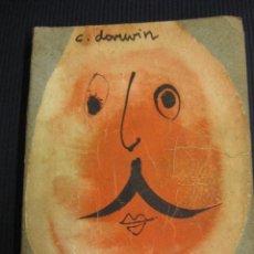 Libros de segunda mano: EL ORIGEN DEL HOMBRE. CARLOS R. DARWIN.SOCIEDAD EDITORA LATINO-AMERICANA BUENOS AIRES.1945.. Lote 42262866