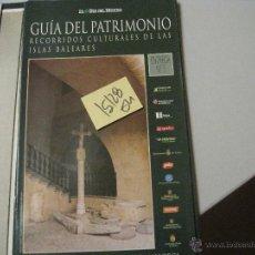 Libros de segunda mano: PALMA: PALAU EPISCOPAL Y MUSEU DE MALLORCAGUIA DEL PATRIMONIO RECORRIDOS CULTURALES DE LAS . Lote 42269945