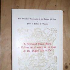 Libros de segunda mano: LA SOCIEDAD VASCA RURAL Y URBANA EN EL MARCO DE LA CRISIS DE LOS SIGLOS XIV Y XV. Lote 42321459