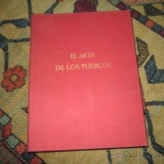 Libros de segunda mano: EL ARTE DE LOS PUEBLOS AFRICA NEGRA ELSY LEUZINGER ED. PRAXIS S.A. Y ED. SEIX BARRAL, S.A. (1961). Lote 42353621