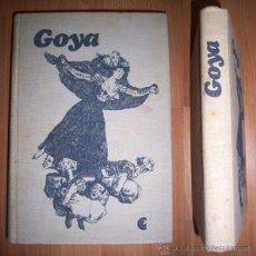 Libros de segunda mano: GOYA : VIDA Y OBRA : LA ESPAÑA DE GOYA Y LARRA. Lote 42373554