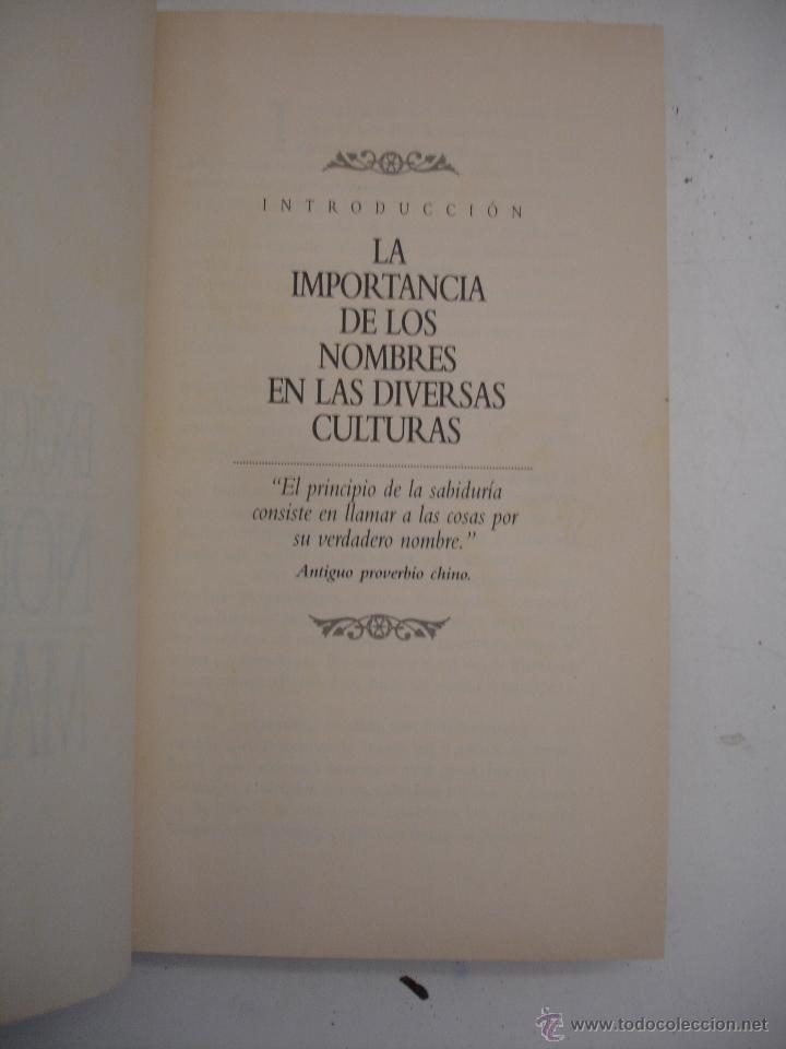 Libros de segunda mano: Enciclopedia De Nombres Mágicos - Foto 2 - 42409678