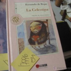 Libros de segunda mano: LA CELESTINAFERNANDO ROJASTAPA DURA2,00. Lote 42464482