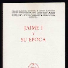 Libros de segunda mano: JAIME I Y SU EPOCA - AUTORES VARIOS - X CONG, HISTORIA CORONA ARAGON / ZARAGOZA - AÑO 1979 - JB. Lote 42467435