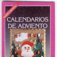 Libros de segunda mano: CALENDARIOS DE ADVIENTO - EDICIONES CEAC 1990. Lote 100630852