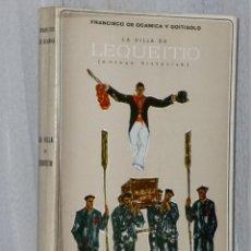 Libros de segunda mano: LA VILLA DE LEQUEITIO (ENSAYO HISTÓRICO). Lote 42491877