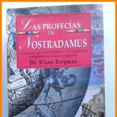 Libros de segunda mano: LAS PROFECIAS DE NOSTRADAMUS - KLAUS BERGMAN. Lote 42548741