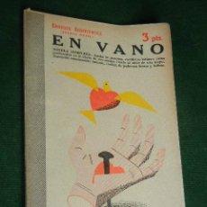 Libros de segunda mano: EN VANO, DE ENRIQUE SIENKIEWICZ. Lote 42557647