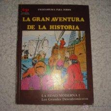 Libros de segunda mano: ENCICLOPEDIA PARA TODOS, LA GRAN AVENTURA DE LA HISTORIA Nº 27. Lote 42583104