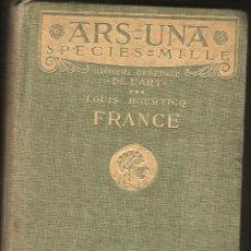 Libros de segunda mano: LIBRO EN FRANCES HISTOIRE GENERALE DE L'ART DE LOUIS HOURTICQ EDITA HACHETTE EN 1919 -OCASION-. Lote 42597142