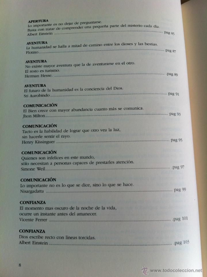 Libros de segunda mano: INTELIGENCIA DEL ALMA. 144 AVENIDAS NEURONALES HACIA EL -YO PROFUNDO-. JOSÉ MARÍA DORIA. - Foto 12 - 42599850