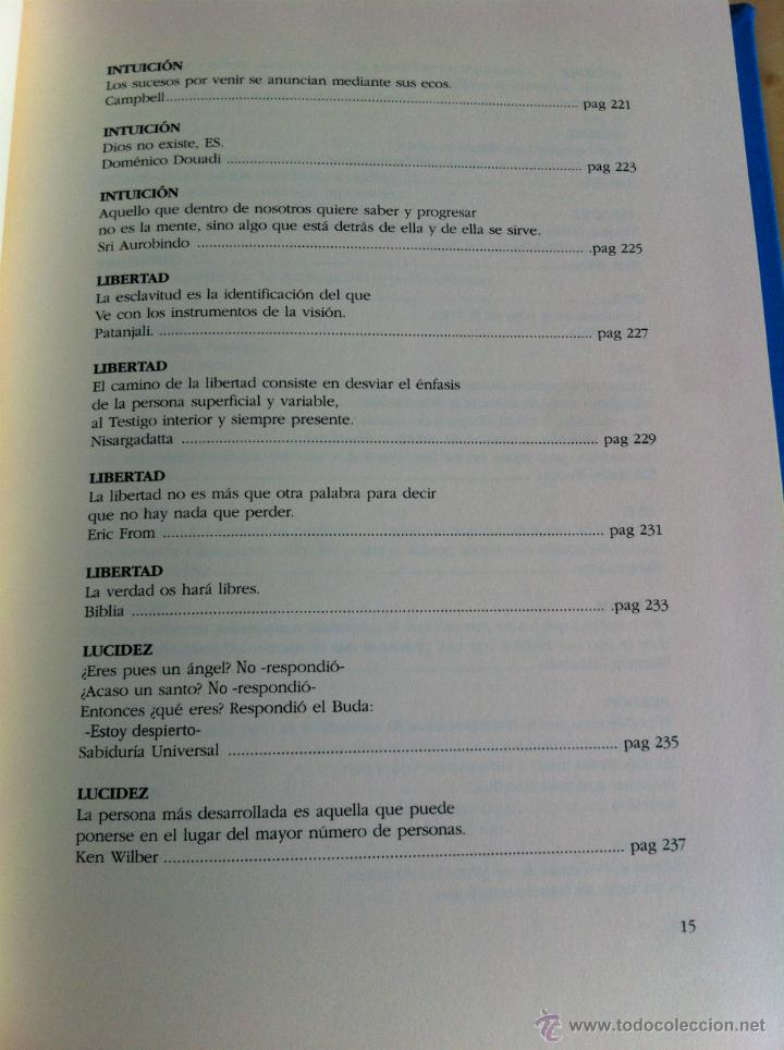 Libros de segunda mano: INTELIGENCIA DEL ALMA. 144 AVENIDAS NEURONALES HACIA EL -YO PROFUNDO-. JOSÉ MARÍA DORIA. - Foto 19 - 42599850