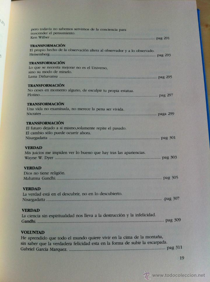 Libros de segunda mano: INTELIGENCIA DEL ALMA. 144 AVENIDAS NEURONALES HACIA EL -YO PROFUNDO-. JOSÉ MARÍA DORIA. - Foto 23 - 42599850