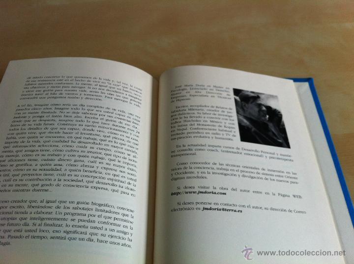 Libros de segunda mano: INTELIGENCIA DEL ALMA. 144 AVENIDAS NEURONALES HACIA EL -YO PROFUNDO-. JOSÉ MARÍA DORIA. - Foto 26 - 42599850