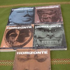 Libros de segunda mano: LOTE DE 5 REVISTAS HORIZONTE - NUMEROS : 1 - 2 - 3 - 4 Y 6 . TODAS CON EXLIBRIS. MISTERIO.. Lote 42696198