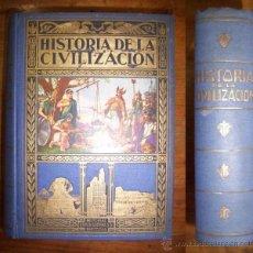 Libros de segunda mano: HERRERO MIGUEL, A. HISTORIA DE LA CIVILIZACIÓN : (BOSQUEJOS DE LA HISTORIA DEL MUNDO) . Lote 42698496