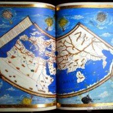 Libros de segunda mano: ATLAS COSMOGRAFIA DE CLAUDIO PTOLOMEO. CODICE FACSIMIL. Lote 42698753