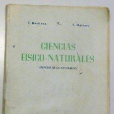 Libros de segunda mano - CIENCIAS FISICO-NATURALES.- Ciencias de la Naturaleza- segundo curso 1948 - 42742318