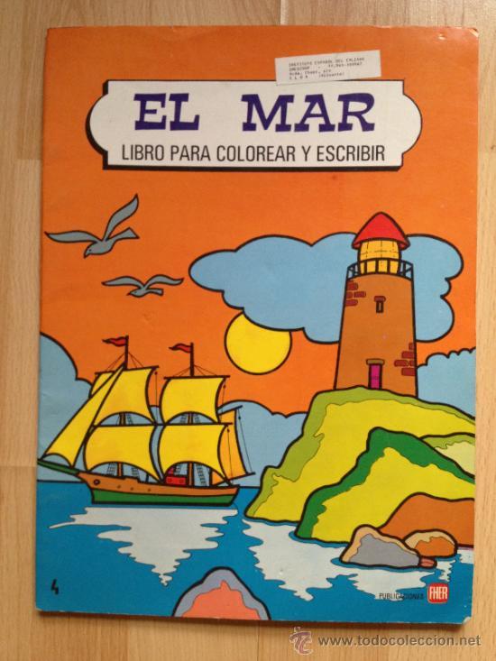 el mar, libro para colorear, editorial fher, añ - Comprar en ...