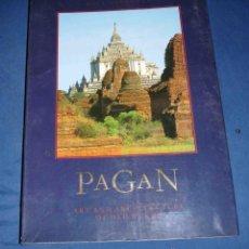 Libros de segunda mano: PAGAN. ART AND ARCHITECTURE OF OLD BURMA. PAUL STRACHAN. EN INGLES. Lote 42810334