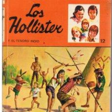 Livres d'occasion: LOS HOLLISTER: NUMERO 12. Y EL TESORO INDIO. JERRY WEST. TORAY 1977.(ST/MG/BL5). Lote 42823393