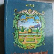 Libros de segunda mano: ACTAS DEL I SIMPOSIO INTERNACIONAL DE EMBLEMÁTICA. 1994. Lote 288666188