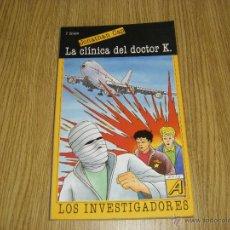 Libros de segunda mano - Jonathan Cap - Los Investigadores - La Clínica del Doctor K - Arin - 42882770