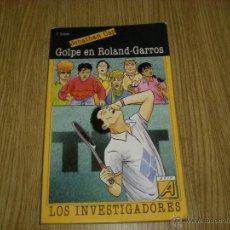 Libros de segunda mano - Jonathan Cap - Los Investigadores - Golpe en Roland-Garros - Arin - 42882788