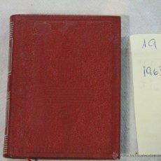 Libros de segunda mano: AGUILAR- COLECCION CRISOLIN - Nº 19 - ESCENAS MONTAÑESAS - JOSÉ M. DE PEREDA. Lote 42893949