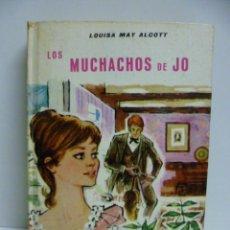 Libros de segunda mano: LOS MUCHACHOS DE JO - DE LUISA M. ALCOT AÑOS 1965. Lote 42911349