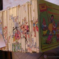 Libros de segunda mano: GRAN LOTE DE CUENTOS CLASICOS WALT DISNEY - 30 VOLUMENES CON DOS CUENTOS POR VOLUMEN. Lote 222080276