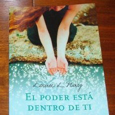 Libros de segunda mano: LIBRO 'EL PODER ESTÁ DENTRO DE TI' (LOUISE L. HAY). Lote 43033110
