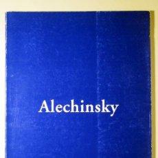 Libros de segunda mano: ALECHINSKY (ALECHINSKY, PIERRE - CATÀLEG) - GALERIA BARCELONA 1996 - COBRA. Lote 29418605