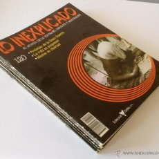 Libros de segunda mano: LO INEXPLICADO. 22 FASCICULOS. EDITORIAL DELTA, 1983. Lote 43166198