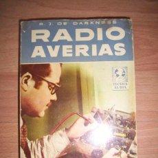 Libros de segunda mano: DARKNESS, R.J. DE. RADIO AVERÍAS. Lote 43177200