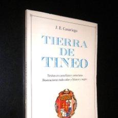 Libros de segunda mano: TIERRA DE TINEO / JESUS EVARISTO CASARIEGO / ASTURIAS. Lote 54731590